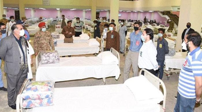 Isolation centre at Karachi Expo Centre to receive coronavirus patients from today