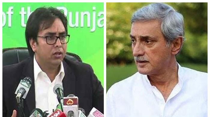 Jehangir Tareen challenges Shahbaz Gill on agri task force issue