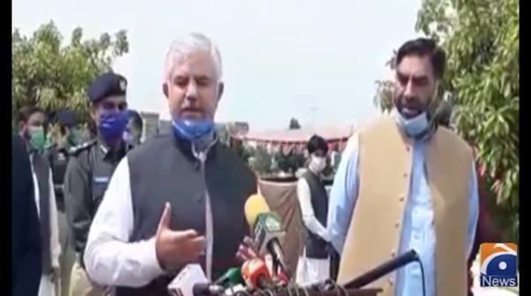 KP CM says 'Katrina' instead of 'quarantine'