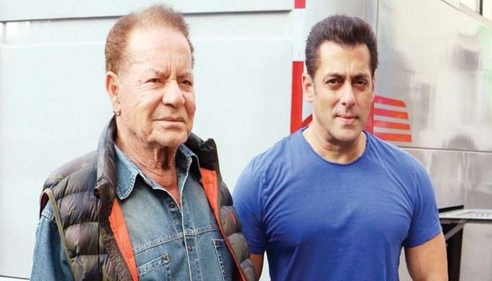 Salman Khan S Old Picture With Father Salim Khan Is Winning Hearts