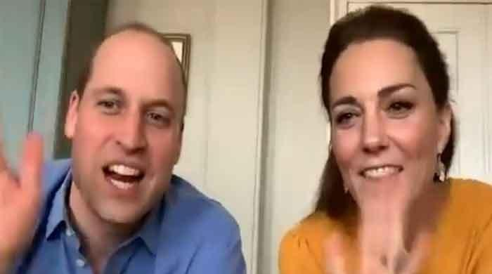 Kate Middleton, Prince William conduct first-ever royal engagement via video call