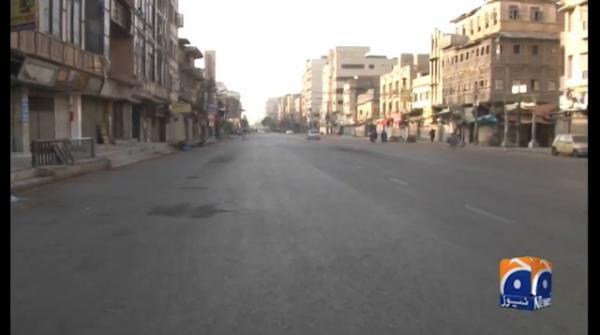 Karachi goes under lockdown for 19th day