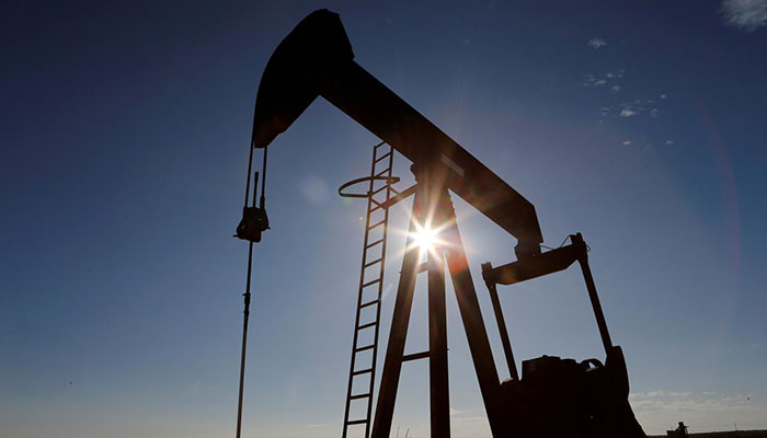 Oil rebounds from record wipeout with prices edging above zero