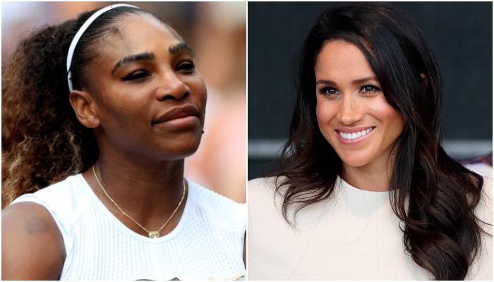 Serena Williams Trolls Naomi Campbell Over Meghan Markle Question: Vid