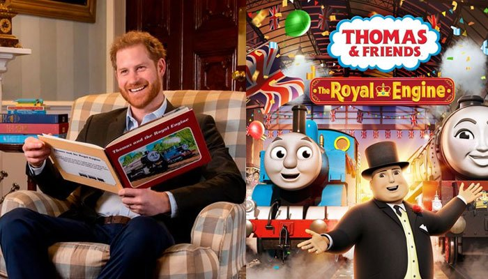 Prince Harry will introduce a special Thomas the Tank Engine