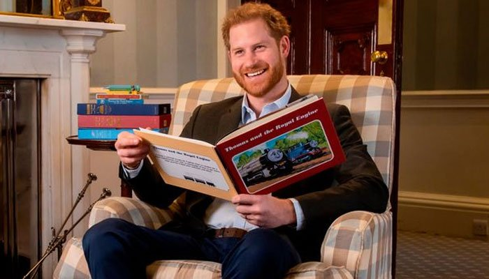 Prince Harry introduces 'Thomas the Tank Engine' episode with queen