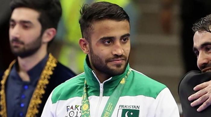 Karateka Saadi Abbas urges fellow athletes to work on craft, graft during lockdown