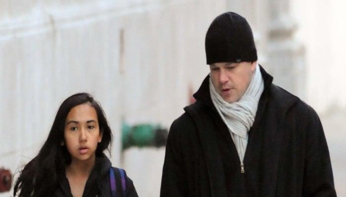 Matt Damon confirms his daughter had coronavirus