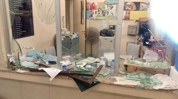 JPMC vandalised by attendants of patient suspected of dying from coronavirus