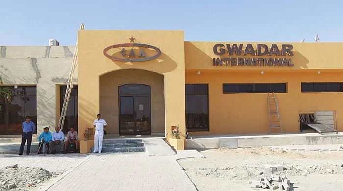 Construction of Gwadar airport in 'full swing' after ease in lockdown: officials
