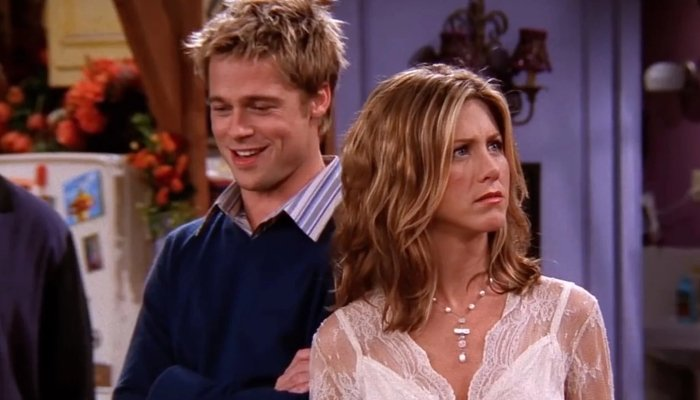 Brad Pitt recalling his time on 'Friends' with Jennifer Aniston: 'I flubbed  my first line'