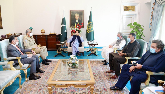 Gen Bajwa discusses country's COVID-19 response in meeting with PM ...