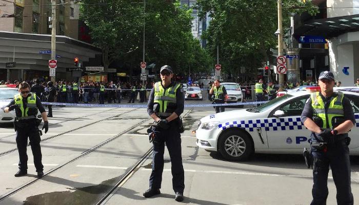 Sports car crashes into Sydney hijab shop, 11 injured