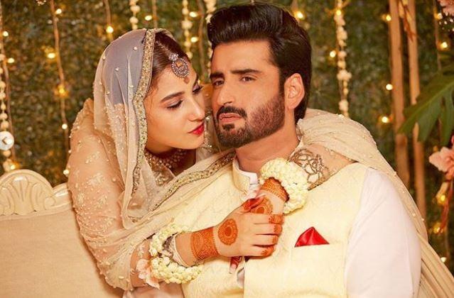Pakistani stars Hina Altaf, Aagha Ali tie the knot in stunning ...