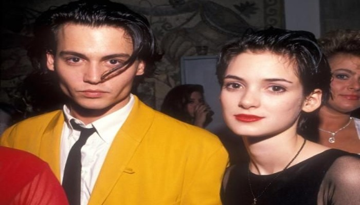 When Johnny Depp said hes madly in love with Winona Ryder: Cant imagine life without her - Geo News