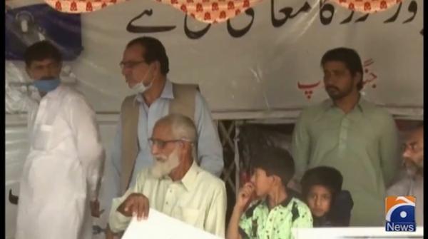 میر شکیل الرحمان کی گرفتاری کے خلاف راولپنڈی میں عید کے روز بھی احتجاج