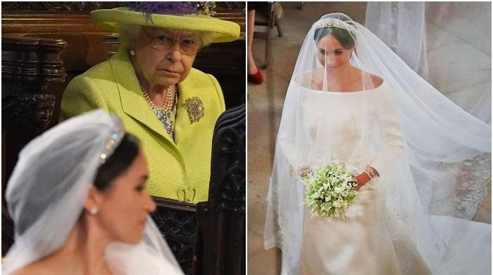 Meghan Markle's wedding dress was disapproved by Queen Elizabeth II