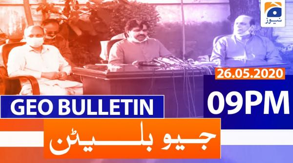 Geo Bulletin 09 PM | 26th May 2020