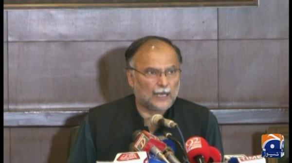 Farmers are worried due to locusts attack and PM is releasing pictures from Nathiagali: Ahsan Iqbal
