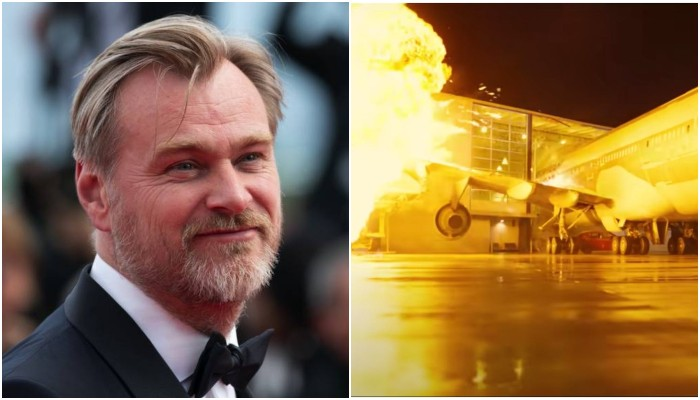Christopher Nolan blew up a real Boeing 747 for his film Tenet - Geo News