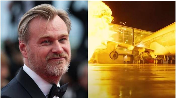 Christopher Nolan blew up a real Boeing 747 for his film 'Tenet'