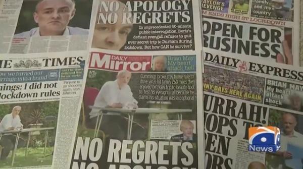Geo News Special - Dominic Cummings under fire in Scotland