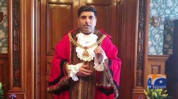Geo News Special - British-Pakistani Wajid Khan made mayor of Burnley