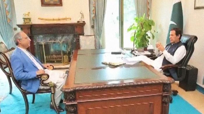 Finance adviser Hafeez Shaikh talks upcoming budget in meeting with PM Imran