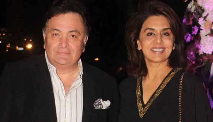 Neetu Kapoor shares loved-up throwback photo with Rishi Kapoor