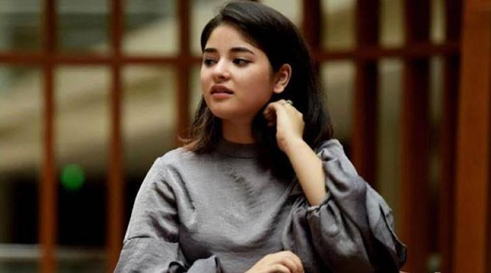 Zaira Wasim draws flak after posting verse from Quran about locust attacks