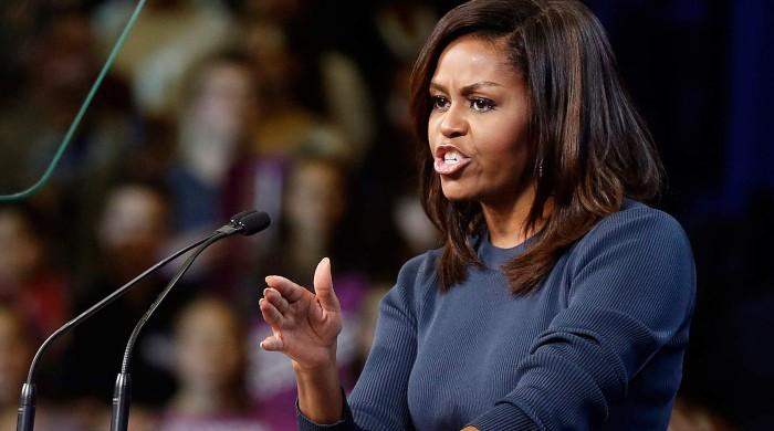 'It can't just be on people of colour to deal with racism': Michelle Obama