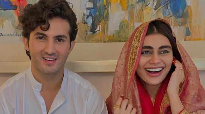 Shahroz Sabzwari ties the knot to Sadaf Kanwal months after divorce with Syra Yousuf