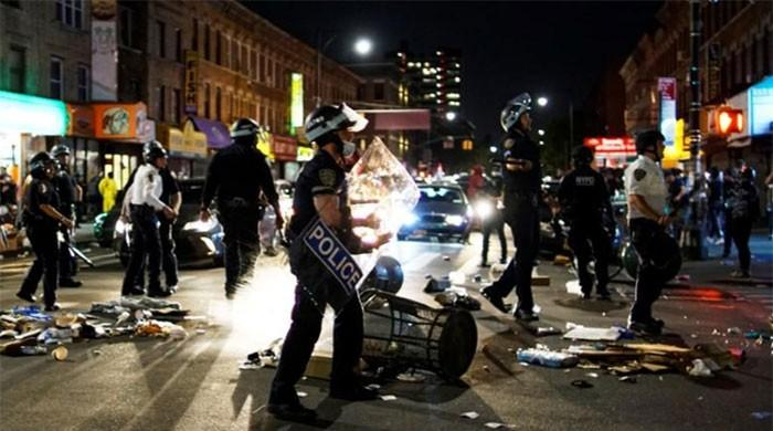 George Floyd death: US cities go under curfew as protests continue