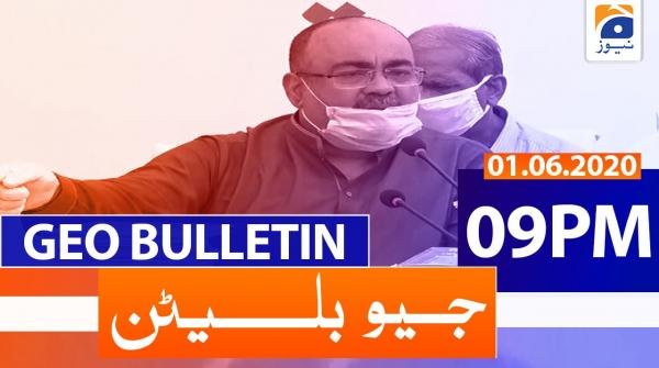 Geo Bulletin 09 PM | 1st June 2020