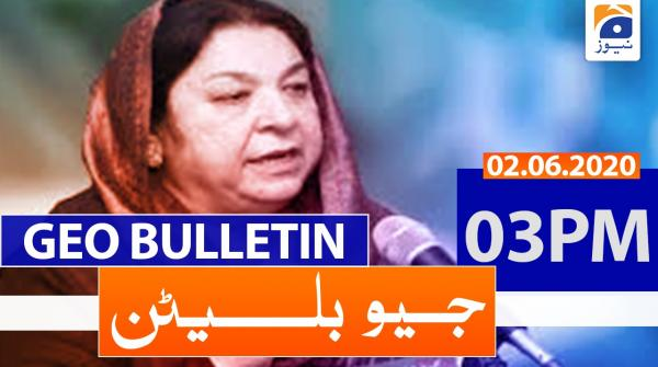Geo Bulletin 03 PM | 2nd June 2020
