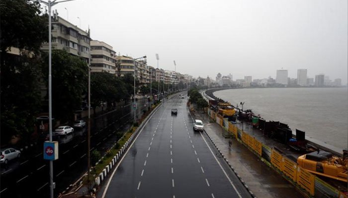 Cyclone Nisarga with strong winds makes landfall on India's western coast