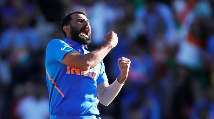 India's Mohammad Shami indifferent to saliva ban