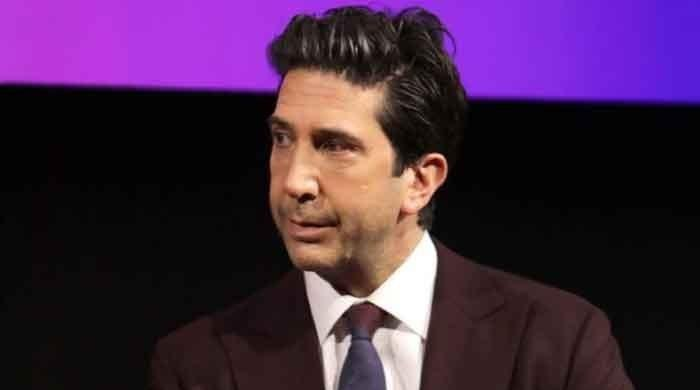 'Friends' star David Schwimmer reunites with former wife at New York protest