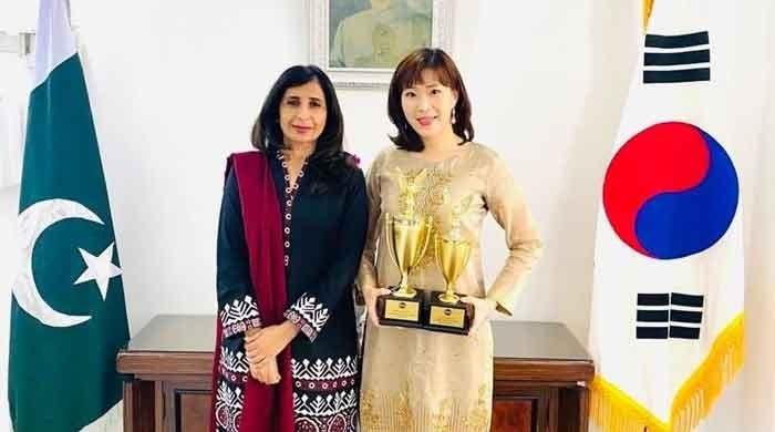 Pakistan embassy employee wins All-Korea 2020 Int'l speech contest