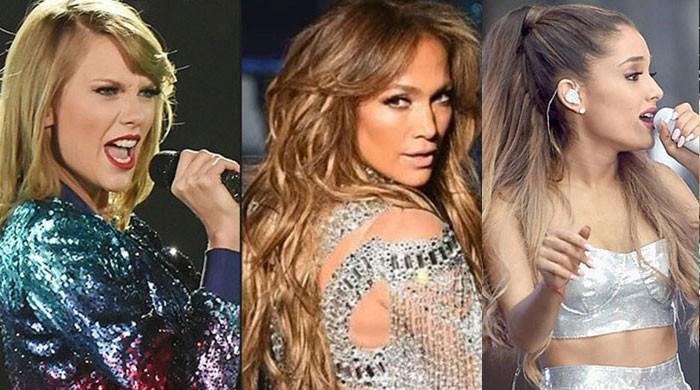 Taylor Swift, Jennifer Lopez and Ariana Grande make 'Forbes' list of highest-paid celebs