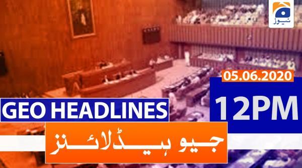 Geo Headlines 12 PM | 5th June 2020