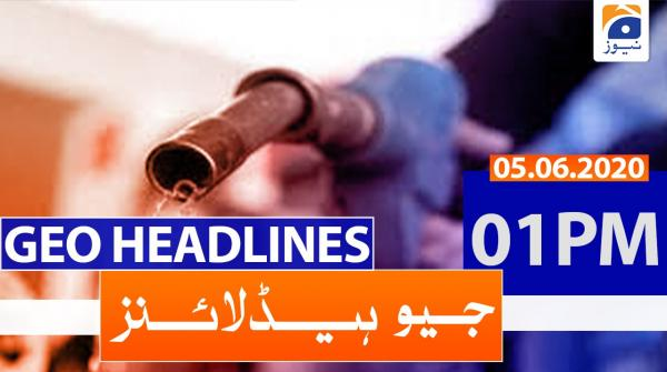 Geo Headlines 01 PM | 5th June 2020