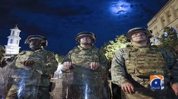 American generals refuse to deploy troops against protesters