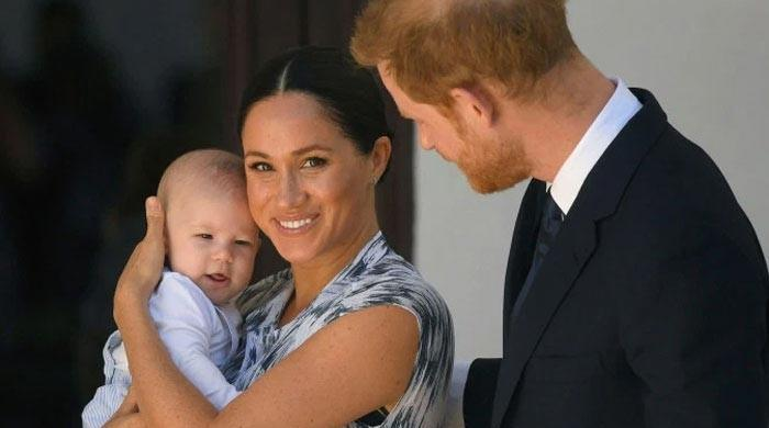Meghan Markle's son Archie picking up a few words, gets excited to see Prince Harry