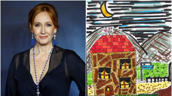 J.K. Rowling cheers up disappointed Pakistani kid by heaping praises on her art