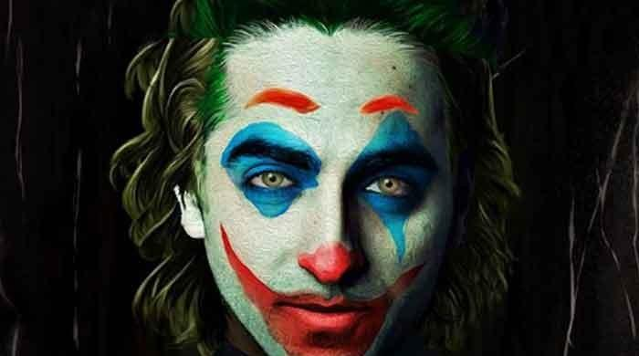 Ayushmann Khurrana shares 'Joker' look with Heath Ledger lines from 'The Dark Knight'