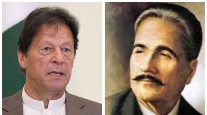 PM Imran admits mistake in attributing lines to Allama Iqbal