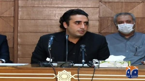.PTI govt responsible for coronavirus spread in Pakistan: Bilawal