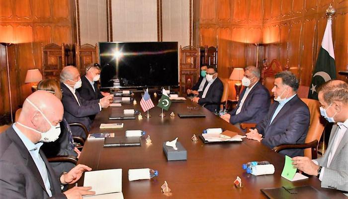Pakistan, US hold talks on restarting intra-Afghan peace talks