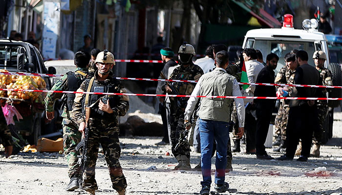 At least four killed in Kabul mosque bombing